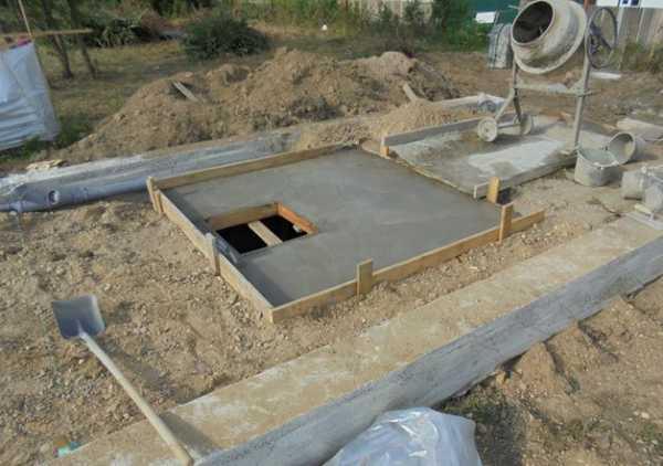 Погреб залить бетоном бетон в новочеркасске